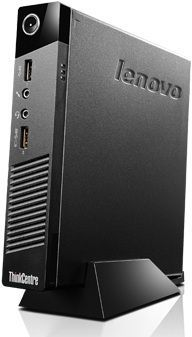 Компьютер  LENOVO ThinkCentre M53 Tiny,  Intel  Pentium  J2900,  DDR3 4Гб, 500Гб,  Intel HD Graphics,  Free DOS,  черный [10dc0019ru]