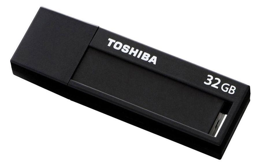 Флешка USB TOSHIBA Daichi U302 32Гб, USB3.0, черный [thn-u302k0320m4]