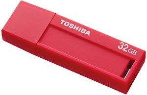 Флешка USB TOSHIBA Daichi U302 32Гб, USB3.0, красный [thn-u302r0320m4]