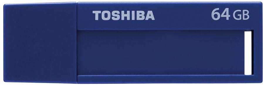 Флешка USB TOSHIBA Daichi U302 64Гб, USB3.0, голубой [thn-u302b0640m4]