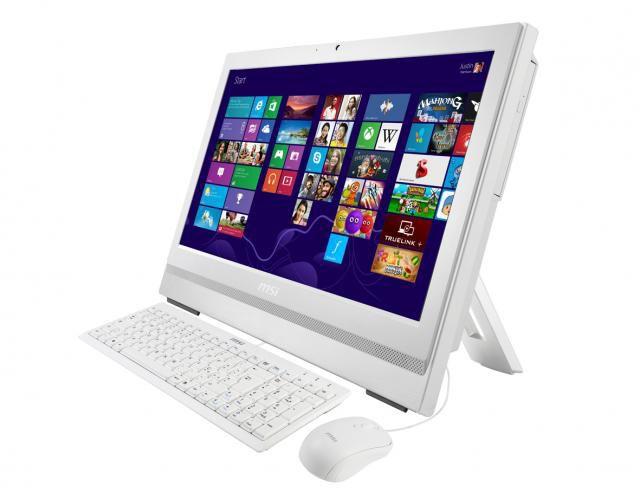 Моноблок MSI AP200-237RU, Intel Core i3 4160, 4Гб, 500Гб, Intel HD Graphics 4400, DVD-RW, Free DOS, белый [9s6-aa7512-237]