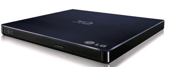 Оптический привод Blu-Ray LG BP50NB40, внешний, USB, черный,  RTL