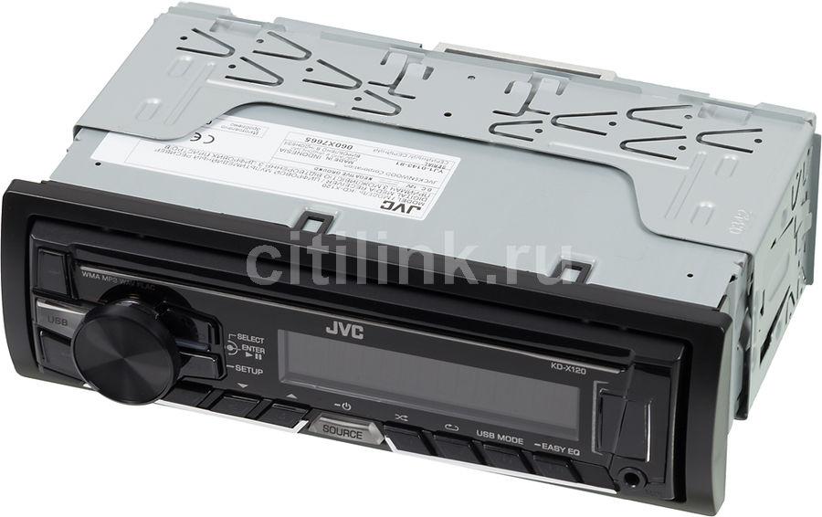 Автомагнитола JVC KD-X120EE,  USB