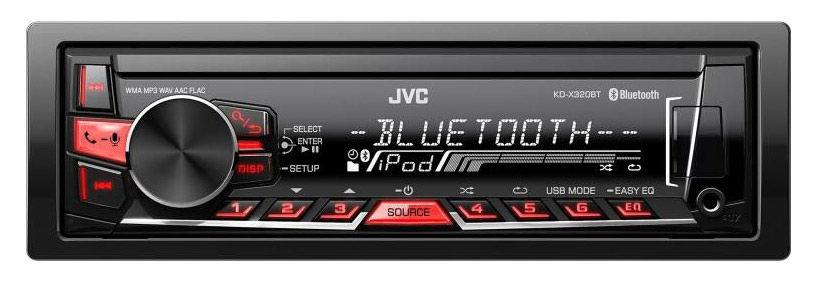 Автомагнитола JVC KD-X320BTEY,  USB