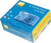 """Фотоаппарат Nikon CoolPix S3700 синий/рисунок 20.1Mp 8x 2.6"""" 720p 25Mb SDXC WiFi E (отремонтированный) вид 11"""