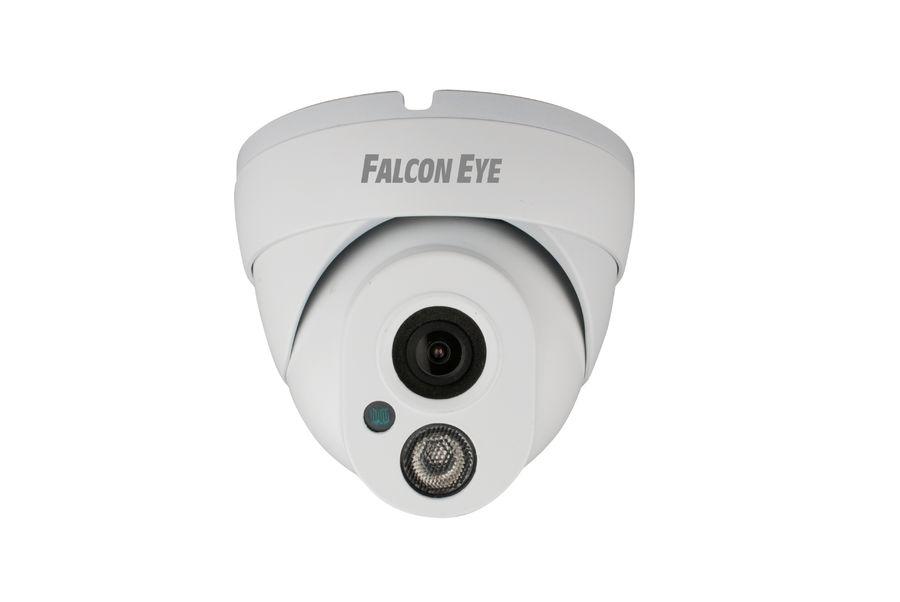 Видеокамера IP FALCON EYE FE-IPC-DL100P,  белый