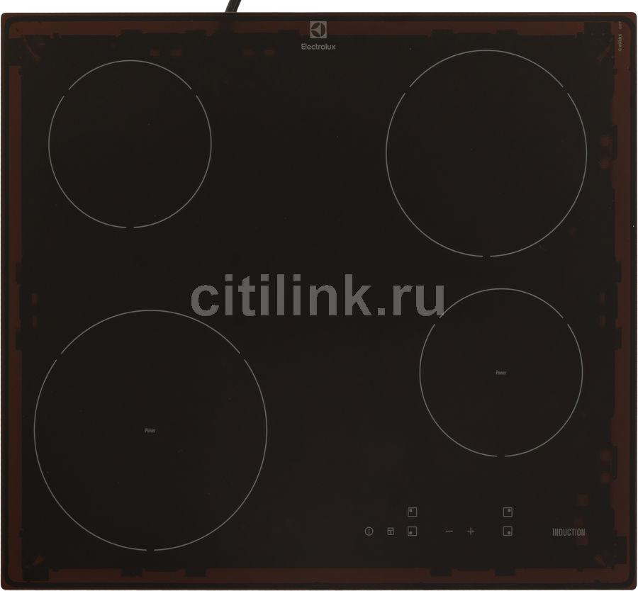 Варочная панель ELECTROLUX EHH56240IK,  индукционная,  независимая,  черный