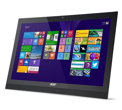 Моноблок ACER Aspire Z1-621, Intel Celeron N2940, 4Гб, 500Гб, Intel HD Graphics, DVD-RW, Windows 8.1, черный [dq.syrer.001]