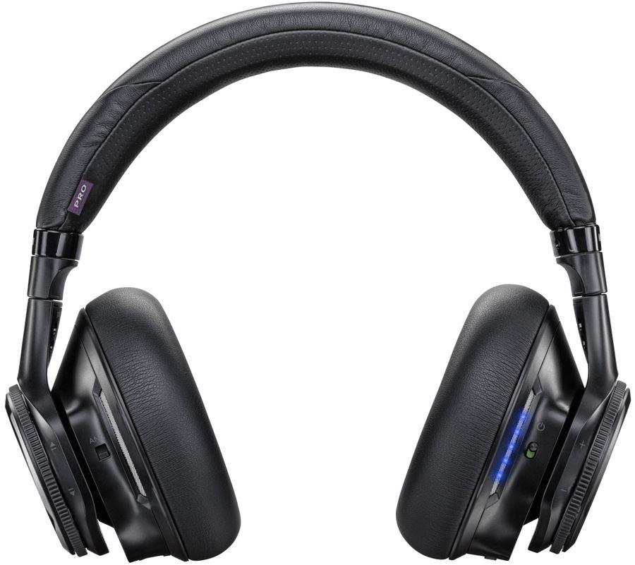 Гарнитура PLANTRONICS Backbeat Pro, мониторы,  черный, беспроводные bluetooth