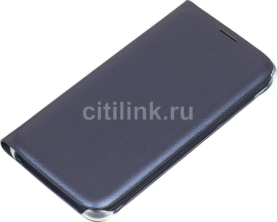 Чехол (флип-кейс) SAMSUNG Flip Wallet, для Samsung Galaxy S6, черный [ef-wg920pbegru]
