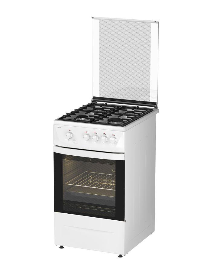 Газовая плита DARINA 1D1 GM 241 008 W,  газовая духовка,  белый