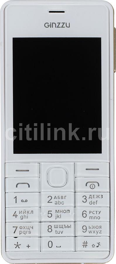 Мобильный телефон GINZZU M105 Dual  белый