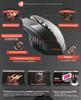 Мышь A4 Bloody TL70 Terminator лазерная проводная USB, черный и серый вид 12