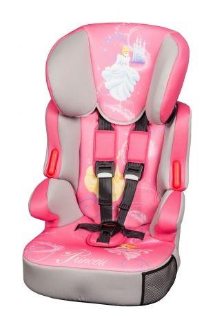 Автокресло детское NANIA Disney Beline SP (Princess), 1/2/3, розовый/серый [293260]