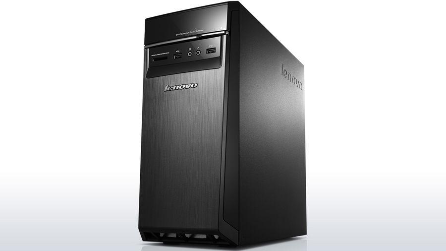Компьютер  LENOVO H50-00,  Intel  Celeron  J1800,  DDR3 4Гб, 500Гб,  Intel HD Graphics,  DVD-RW,  CR,  Windows 8.1,  черный [90c10025rs]