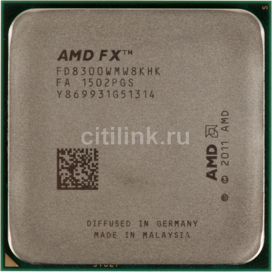 Процессор AMD FX 8300, SocketAM3+ OEM [fd8300wmw8khk]