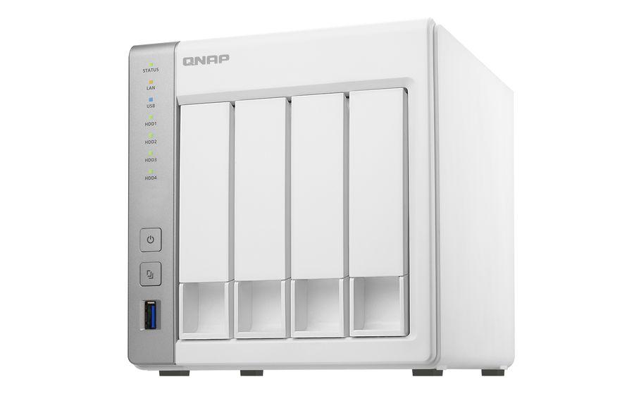Сетевое хранилище QNAP TS-431,  без дисков