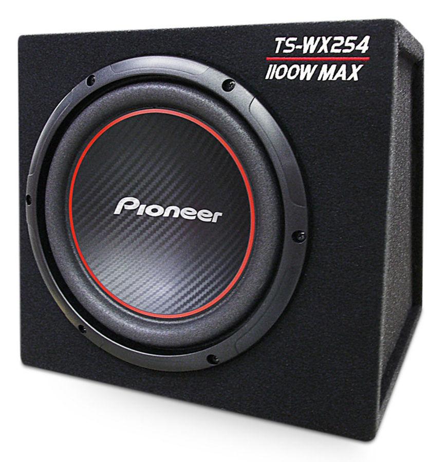 Сабвуфер автомобильный PIONEER TS-WX254,  пассивный,  1100Вт