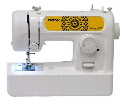 Швейная машина BROTHER Vitrage M73 белый
