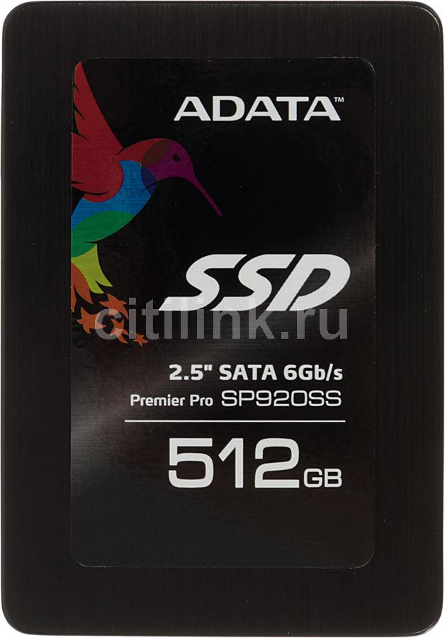 SSD накопитель A-DATA Premier Pro SP920 ASP920SS3-512GM-C 512Гб, 2.5