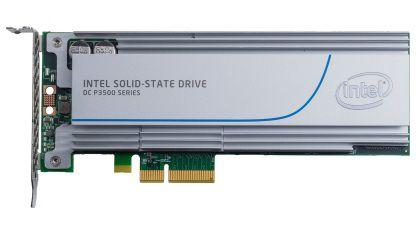 SSD накопитель INTEL DC P3500 SSDPEDMX400G401 400Гб, PCI-E AIC (add-in-card), PCI-E x4 [ssdpedmx400g401 937525]