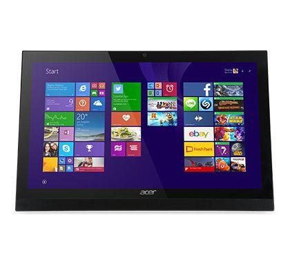 Моноблок ACER Aspire Z1-623, Intel Core i3 4005u, 4Гб, 500Гб, nVIDIA GeForce GT940M - 2048 Мб, DVD-RW, Windows 8.1, черный [dq.szxer.002]