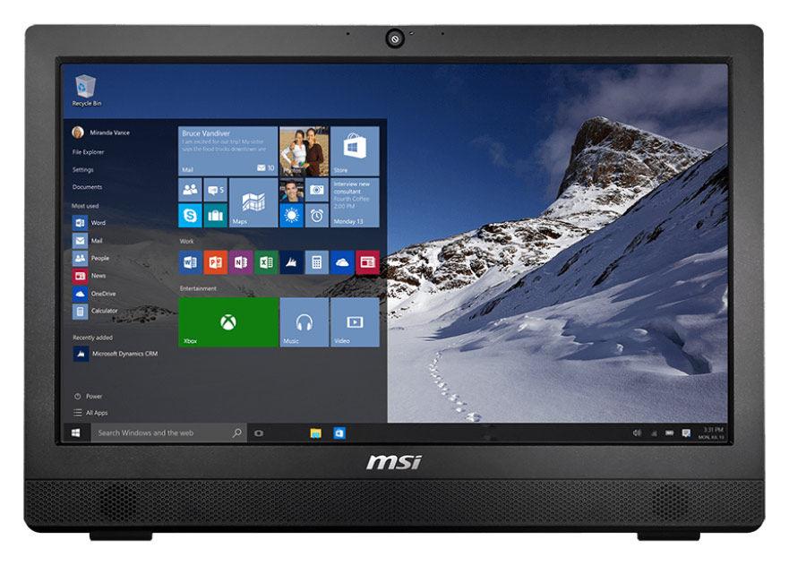 Моноблок MSI Pro 24 2M-006RU, Intel Core i5 4460, 4Гб, 1000Гб, Intel HD Graphics 4600, DVD-RW, Free DOS, черный [9s6-ae9111-006]