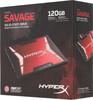 SSD накопитель KINGSTON HyperX Savage SHSS3B7A/120G 120Гб, 2.5