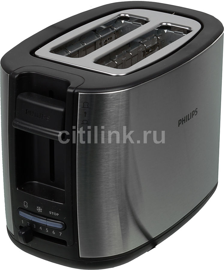 Тостер PHILIPS HD2658,  серебристый [hd2658/20]
