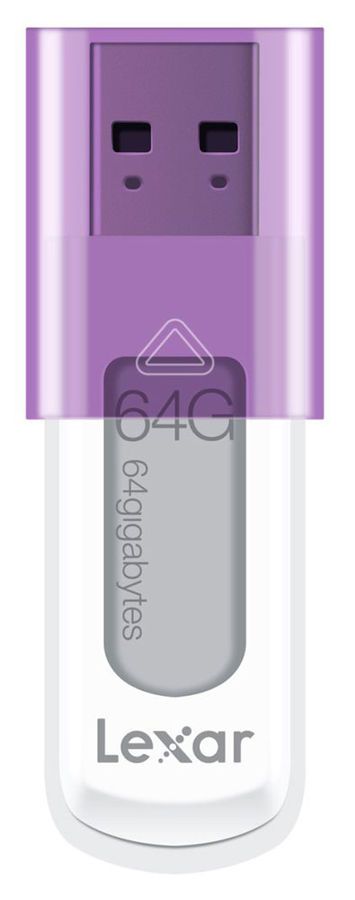 Флешка USB LEXAR JumpDrive S50 64Гб, USB2.0, белый [ljds50-64gabeu]