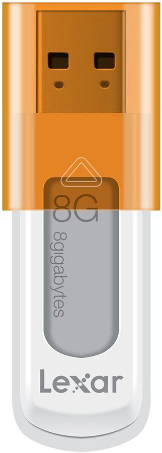 Флешка USB LEXAR JumpDrive S50 8Гб, USB2.0, белый [ljds50-8gbabeu]