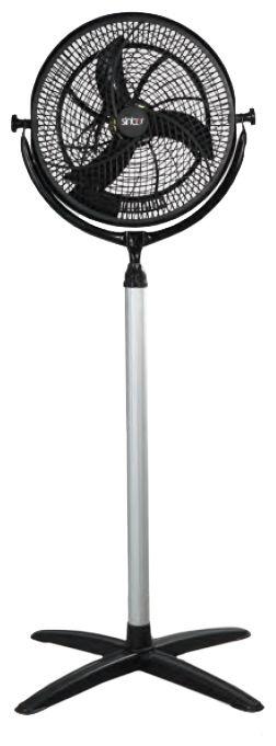 Вентилятор напольный SINBO SF 6720S,  черный и серебристый
