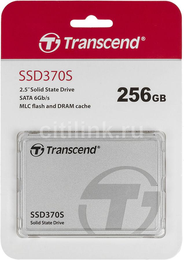 "SSD накопитель TRANSCEND TS256GSSD370S 256Гб, 2.5"", SATA III"