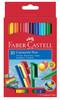 Фломастеры Faber-Castell Eberhard Faber 155510 10цв. картон (10шт.)
