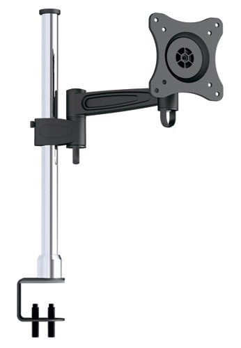 "Кронштейн для мониторов Arm Media LCD-T2 серебристый 10""-24"" макс.15кг настольный наклон [10083]"