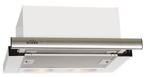 Вытяжка встраиваемая Elikor Интегра S2 60Н-700-В2Г нержавеющая сталь управление: кнопочное (1 мотор) [кв i м-700-60-428]