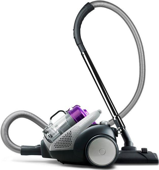 Пылесос ELECTROLUX ZT3550EL, 1400Вт, серебристый/фиолетовый