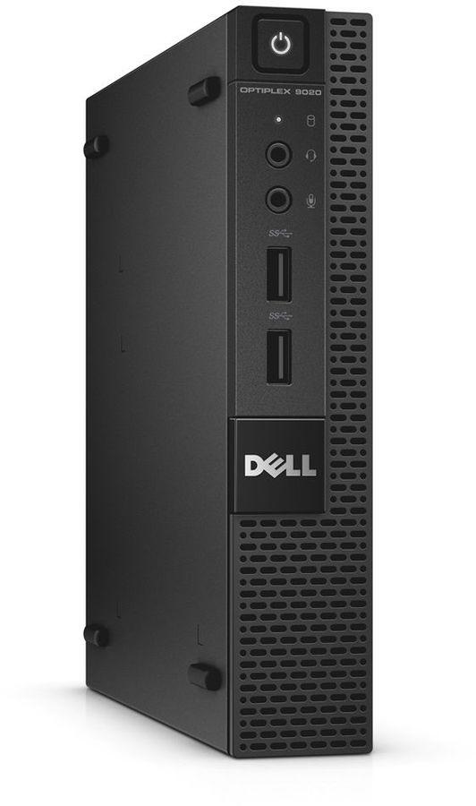 Компьютер  DELL Optiplex 9020,  Intel  Core i7  4785T,  DDR3L 8Гб, 500Гб,  Intel HD Graphics 4600,  Windows 7 Professional,  черный [9020-7610]