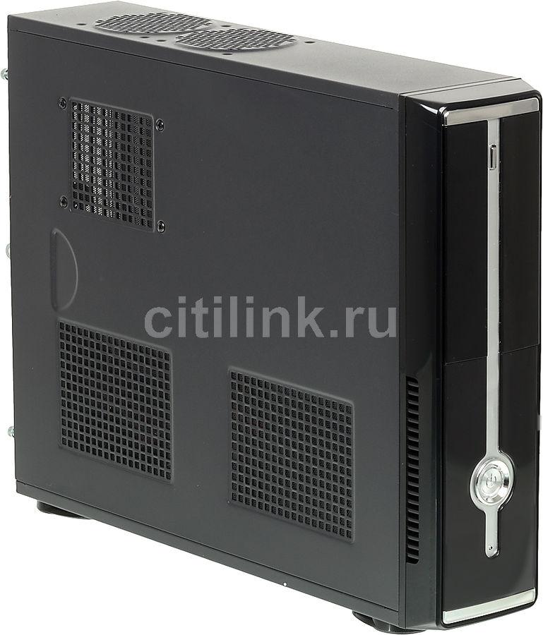 Корпус ATX FORMULA R-120D, HTPC, 350Вт,  черный и серебристый