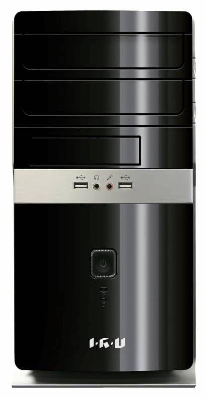Компьютер  IRU City 319,  Intel  Core i3  4160,  DDR3 4Гб, 500Гб,  Intel HD Graphics 4400,  Windows 7 Professional,  черный [314013]