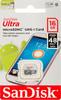 Карта памяти microSDHC UHS-I SANDISK Ultra 16 ГБ