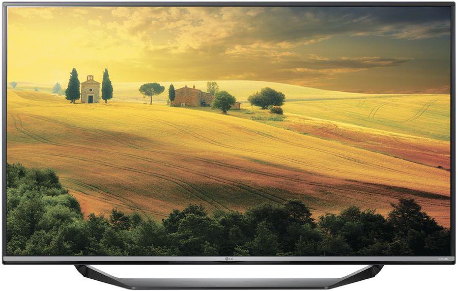 "LED телевизор LG 60UF670V  ""R"", 60"", Ultra HD 4K (2160p),  черный"