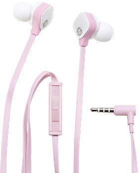 Гарнитура HP In-Ear H2310, J8H44AA, вкладыши,  розовый, проводные