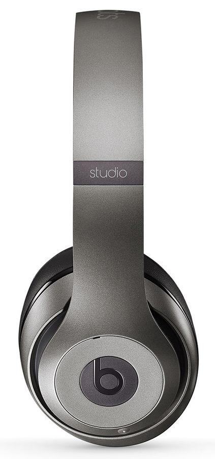Наушники мониторы Beats Studio 2 1.36м титановый проводные
