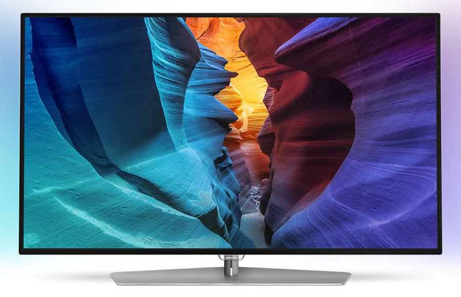 "LED телевизор PHILIPS 48PFT6300/60  ""R"", 48"", FULL HD (1080p),  черный/ серебристый"