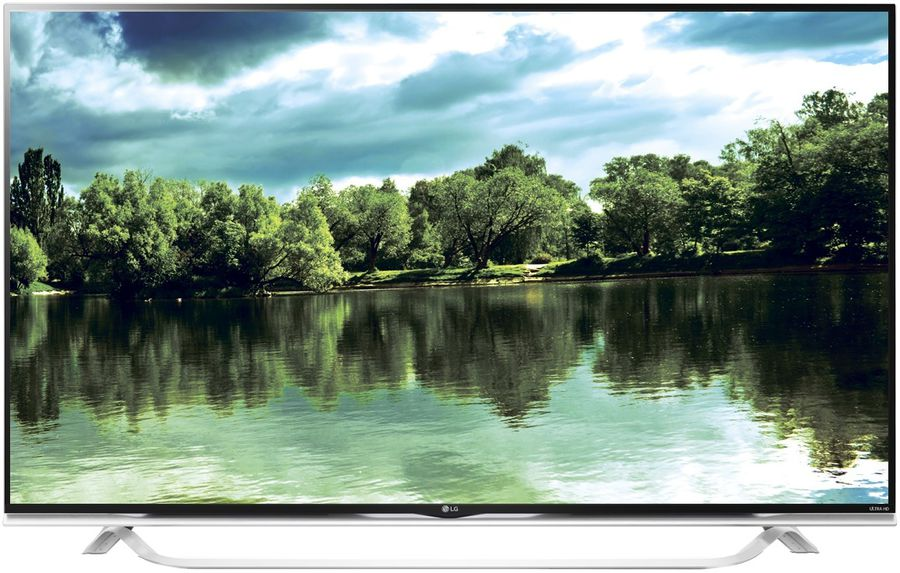 "LED телевизор LG 60UF853V  ""R"", 60"", 3D,  Ultra HD 4K (2160p),  черный/ белый"