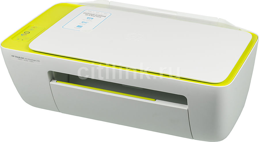 МФУ HP DeskJet Ink Advantage 2135, A4, цветной, струйный, белый [f5s29c]