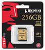 Карта памяти SDXC UHS-I KINGSTON 256 ГБ, Class 10, SDA10/256GB,  1 шт. вид 2