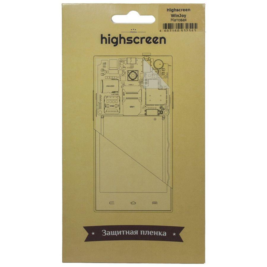 Защитная пленка HIGHSCREEN для Highscreen winjoy,  матовая, 1 шт [22462]