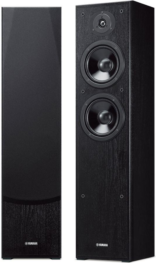 Акустическая система YAMAHA NS-F51,  2.0,  черный
